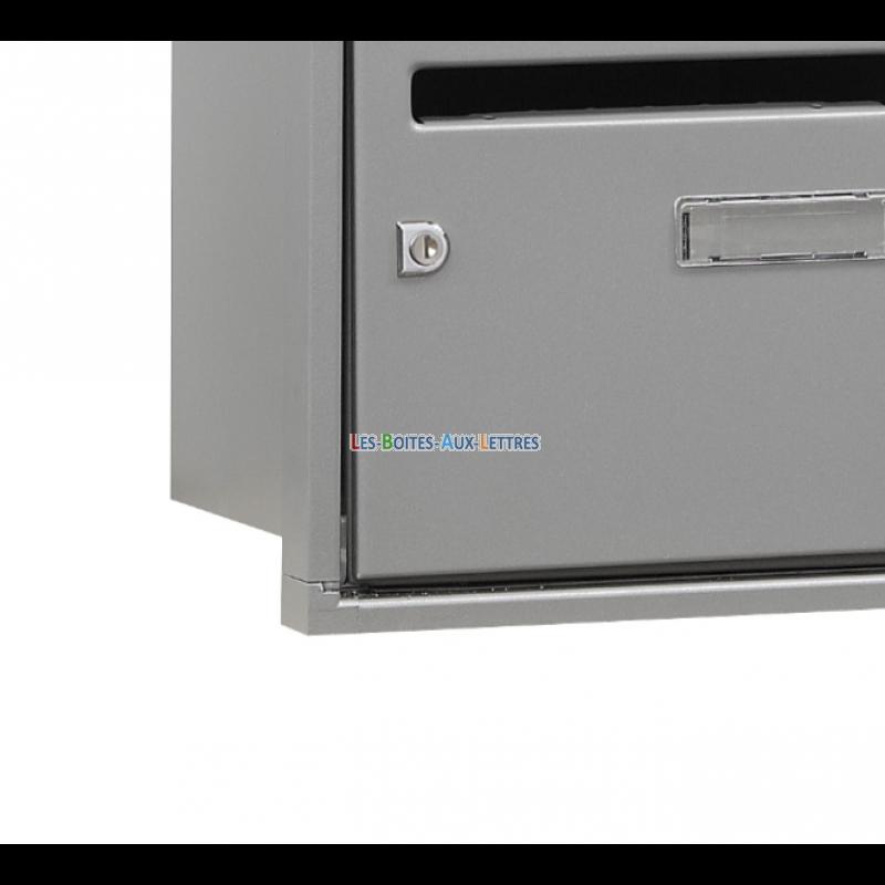batterie boites aux lettres compacte loft boites aux lettres interieur. Black Bedroom Furniture Sets. Home Design Ideas