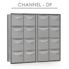 Bloc Channel compact double face