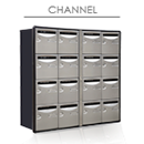 Bloc channel compact interieur