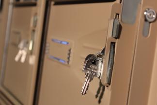 clés bloc boites à lettres