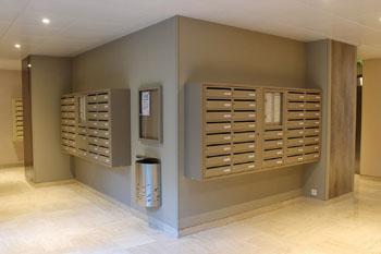 Immeuble boite aux lettres